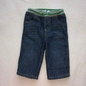 BODEN Baby Boy Denim Pants 6-12M